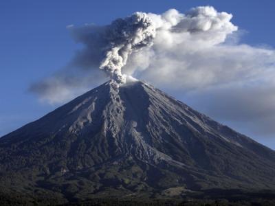 Semeru Eruption, Java Island, Indonesia