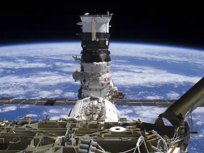 The Mini Research Module 2 Docked with the International Space Station