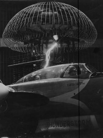 How Metal Aircraft Shed Lightning