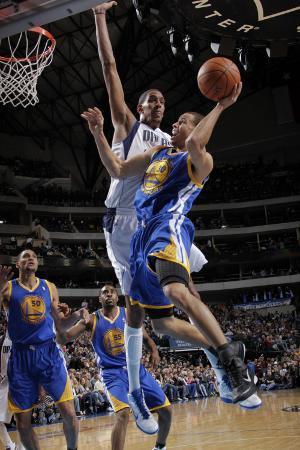 Golden State Warriors v Dallas Mavericks: Stephen Curry