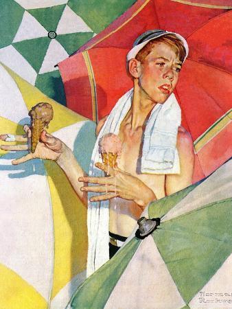 """""""Melting Ice Cream"""" or """"Joys of Summer"""", July 13,1940"""
