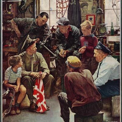 """Homecoming Marine"", October 13,1945"