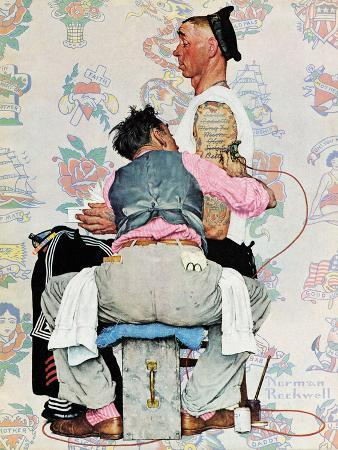 """""""Tattoo Artist"""", March 4,1944"""