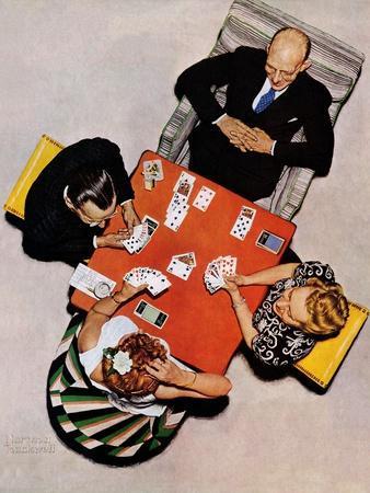"""Bridge Game"" or ""Playing Cards"", May 15,1948"