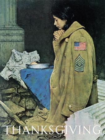 """""""Refugee Thanksgiving"""", November 27,1943"""