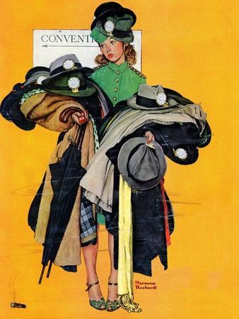 """Hatcheck Girl"", May 3,1941"