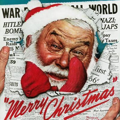 """""""Santa's in the News"""", December 26,1942"""