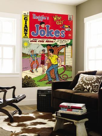 Archie Comics Retro: Reggie's Jokes Comic Book Cover No.7 (Aged)