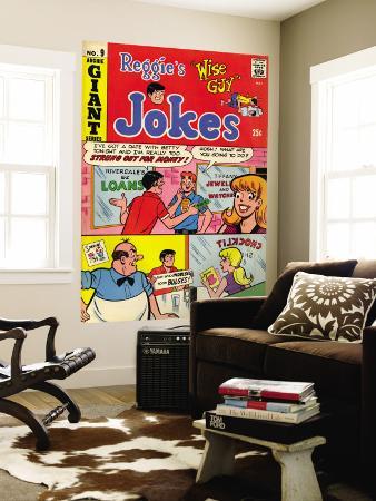 Archie Comics Retro: Reggie's Jokes Comic Book Cover No.9 (Aged)