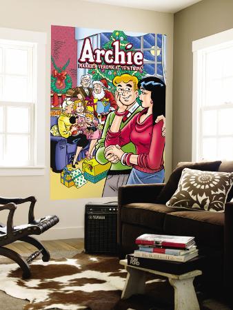 "Archie Comics Cover: Archie No.602 Archie Marries Veronica: ""It's Twins."""