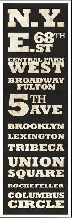 New York Vintage Sign