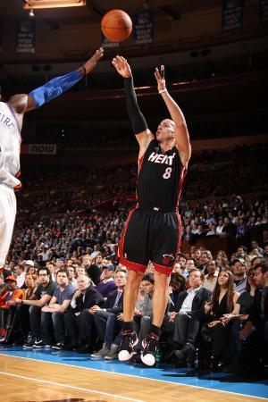 Miami Heat v New York Knicks: Carlos Arroyo and Amar'e Stoudemire