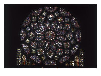Notre-Dame Cathedral of Chartres, Rose Window on the Northern Side
