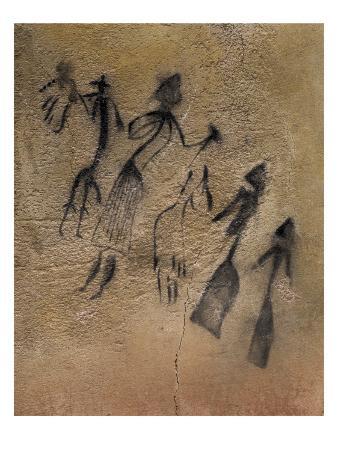 Phallic Dance in Naturalistic-Stylized Style