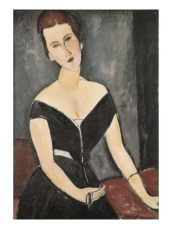 Portrait of Madame Georges Van Muyden