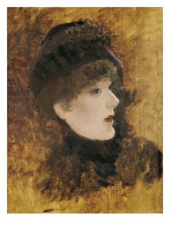 Portrait of Sarah Bernhardt
