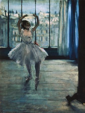 Dancer at the Photographer's Studio
