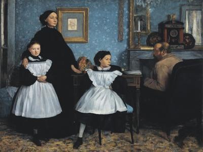 The Bellelli Family (La Famille Bellelli)
