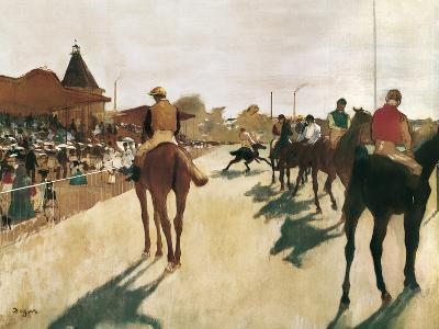 The Parade, or Race Horses in Front of the Stands
