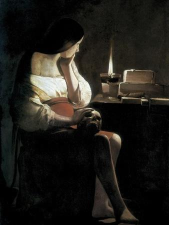 Mary Magdalene with a Night-Light, or the Terff Magdalene (La Madeleine a La Veilleuse)