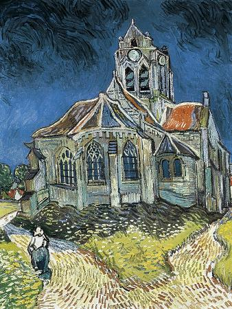 The Church at Auvers-Sur-Oise (L'Église D'Auvers-Sur-Oise, Vue Du Chevet)