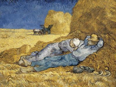 Noon, or the Siesta, after Millet