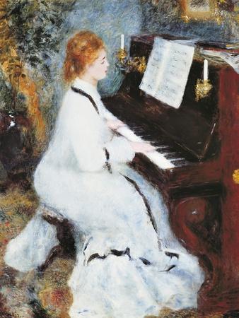Woman at the Piano, 1875/76