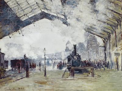 Arrival of the Normandy Train, Gare Saint-Lazare