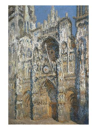 Rouen Cathedral, the Portal and the Tower of Saint-Romain, Morning Effect, Harmony in White