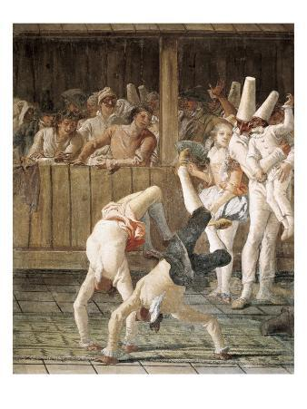 Pulcinella and the Tumblers