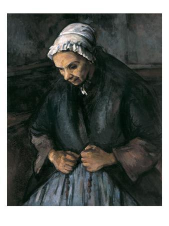 An Old Woman with a Rosary