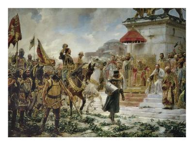 The Arrival of Roger De Flor in Constantinople