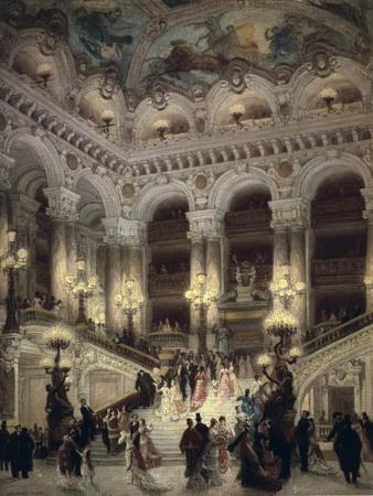 The Stairway of the Opera, Paris