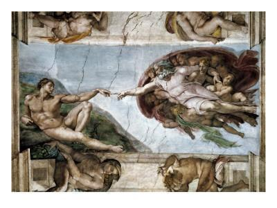 Sistine Chapel, the Creation of Adam