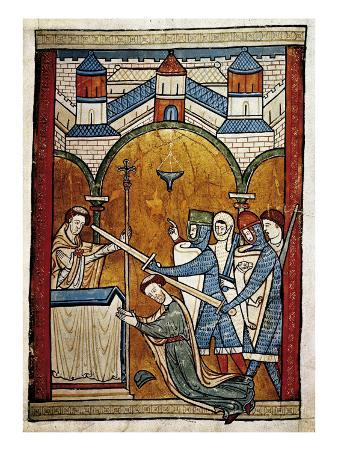 Scene from the Murder of Saint Thomas Becket