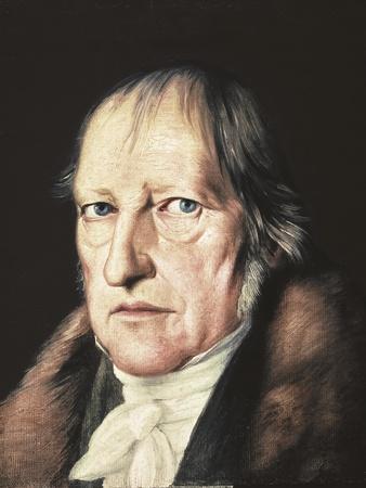 Portrait of Georg Wilhelm Friedrich Hegel