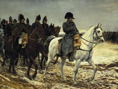 Napoleon on Campaign in France,1814
