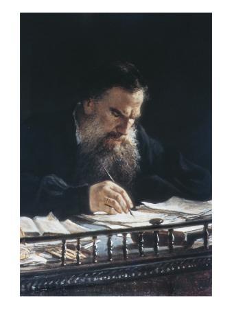 Portrait of Leon Tolstoy