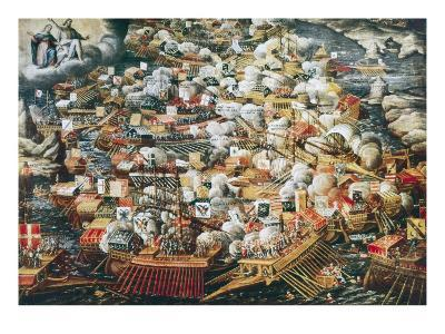 The Battle of Lepanto, 7th October 1571