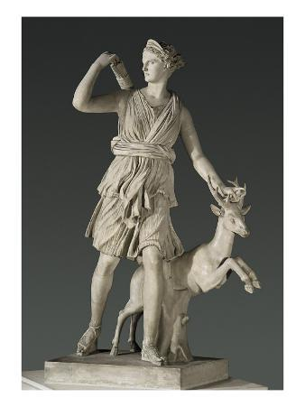 Artemis the Huntress, known as the 'Diana of Versailles'