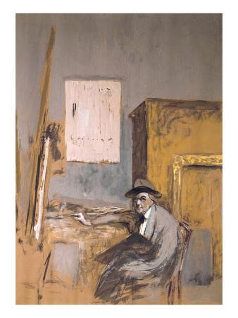 Forain in His Studio