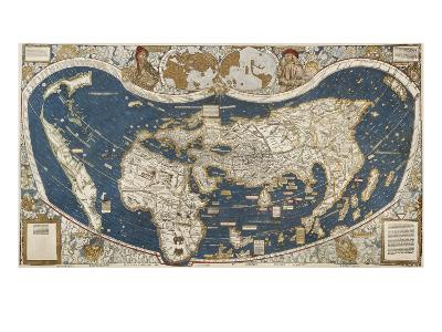 Universal Map, Belonging to the Work Cosmographiae Introductio (1507)