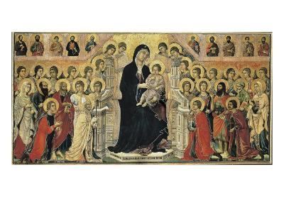 Maestà (Madonna with Angels and Saints)