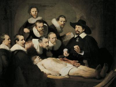 The Anatomy Lecture of Dr