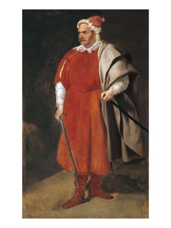 Portrait of the Buffoon 'Redbeard', Cristobal De Castaneda