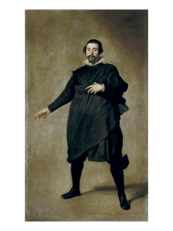 Portrait of the Buffoon Pablo De Valladolid