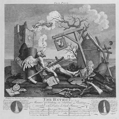 Bathos, Manner of Sinking, in Sublime Paintings Inscribed to the Dealers in Dark Pictures, 1764