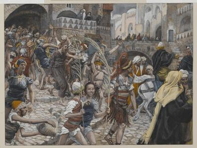 Jesus Led from Caiaphas to Pilate, Illustration from 'The Life of Our Lord Jesus Christ', 1886-94