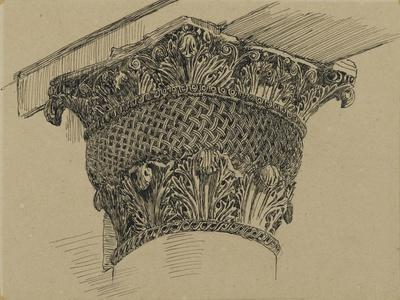 Capital from the Mosque of El-Aksa, Illustration from 'The Life of Our Lord Jesus Christ', 1886-94