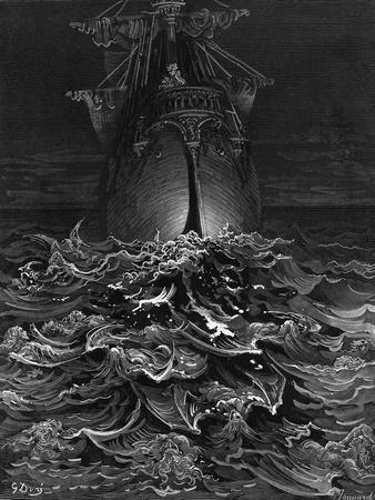 The Mariner Gazes on the Ocean and Laments His Survival While All His Fellow Sailors Have Died